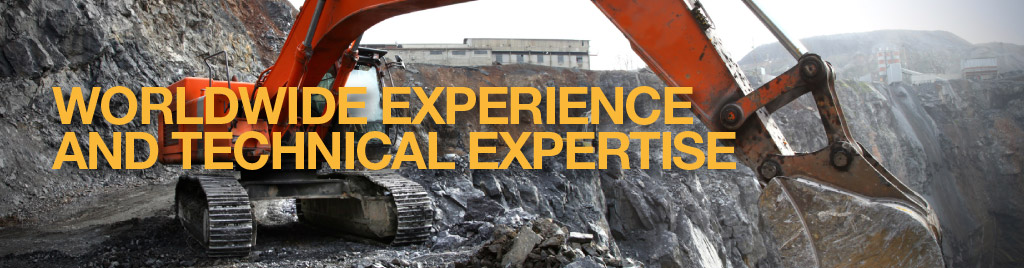 Worldwide Experience and Technical Expertise